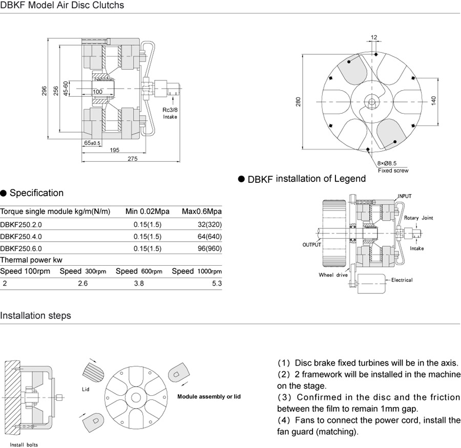 Tj Dbkf Air Disc Braketype Of Cooling And Fan Clutch Brake Diagram For Pinterest