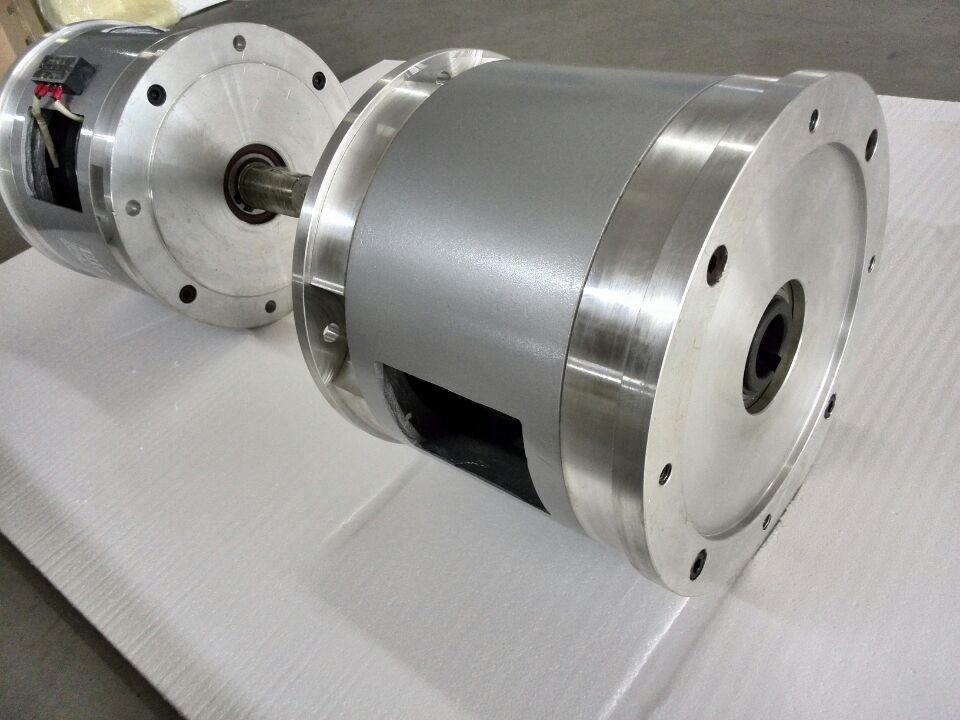 double flange electric clutch brake